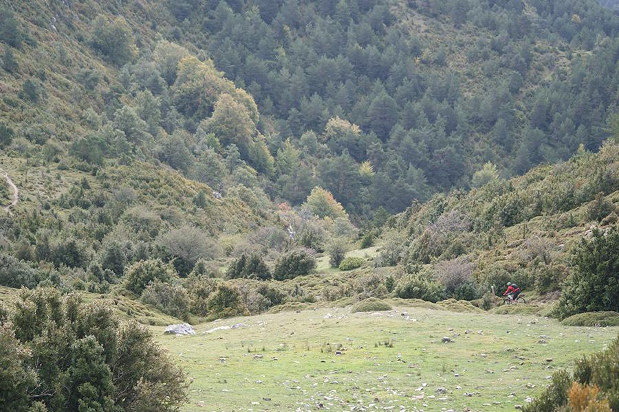 rutas btt en la comarca cinco villas