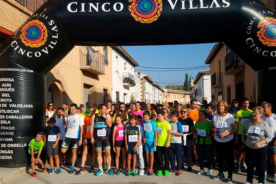 eventos deportivos en la comarca cinco villas