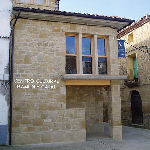 Valpalmas. Centro cultural Ramon y Cajal